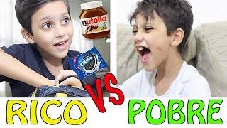 RICO VS POBRE - GUSTAVO TV