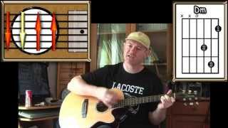 Hate Street Dialogue - Sixto Rodriguez - Acoustic Guitar Lesson