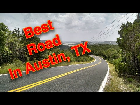The Best Cycling Road In Austin, TX - Volente Loop (aka: Lime Creek)