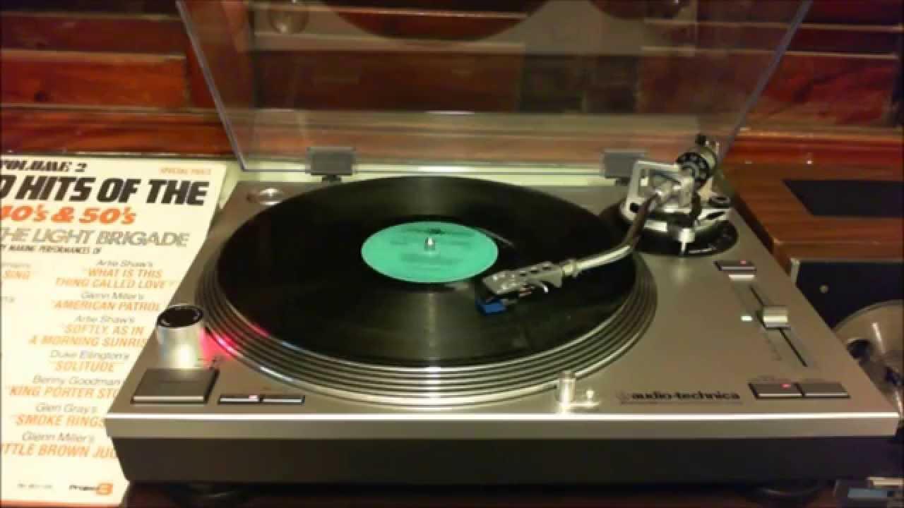 Demonstração toca discos Audio Technica AT LP 120 - USB tocando Sing Sing  Sing Part I   II 123b29009e5
