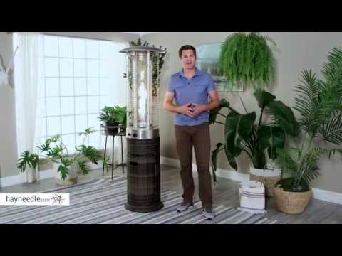 Red Ember Wicker Patio Heater   Product Review Video