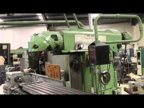 Lagun FCM1600 universal milling machine at www.newmac.com.au (SOLD)