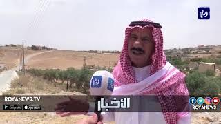 قرية روضة الامير راشد في معان تفتقر الى خدمة الصرف الصحي لمنازل المواطنين - (25-6-2018)