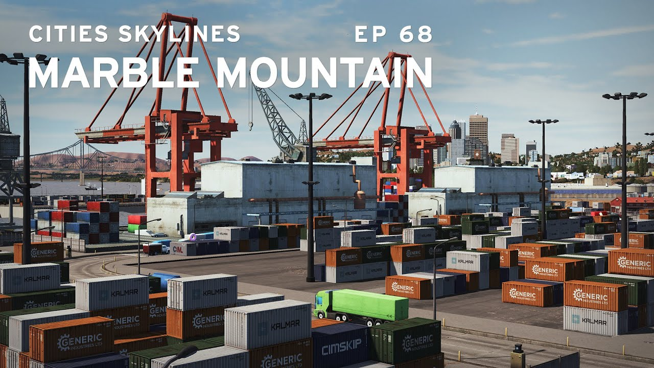 PO Fixed my Industry! | Cities Skylines: Marble Mountain 68