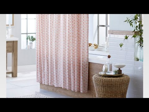 🏠 Luxury Bathroom Shower Curtain Decorating Ideas That's are Cool and stylish