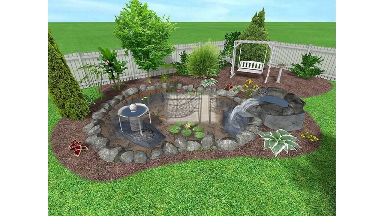 Garden design ideas for small gardens - YouTube