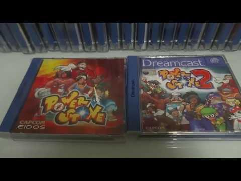 Mi colección de Dreamcast (60 juegos)