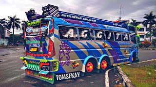REVIEW BUS SUTRA 86 SUMATRA TRANSPORT TERBARU