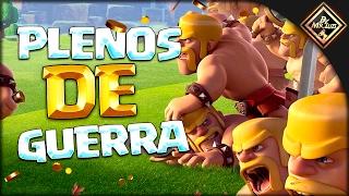 PLENOS DE WAR EN TH10 | clash of clans by mr luis