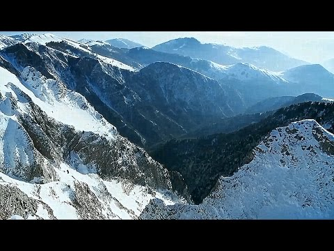 Greece: Rodopi Mountain Range National Park ~ Vangelis: Mythodea ~ Movement IX