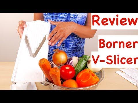 Swissmar Borner V-1001 V-Slicer Plus Mandoline 5 Piece Set Review
