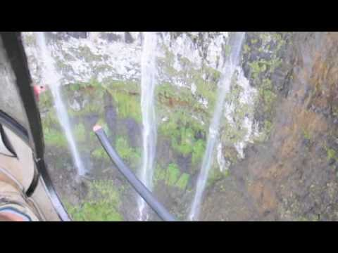 Waterfalls in the Waialeale Crater