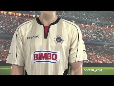 18030baa8 Reebok Chivas Home Goalkeeper Jersey 10 11 - YouTube