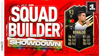 Fifa 21 Squad Builder Showdown Advent Calendar!!! INFORM CRISTIANO RONALDO!!! Day 1 Vs James
