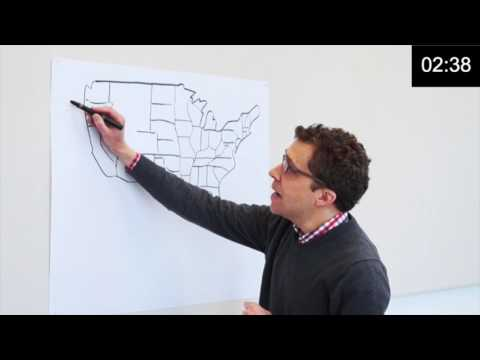 A Hand-Drawn History of the United States (and Not-Quite States)