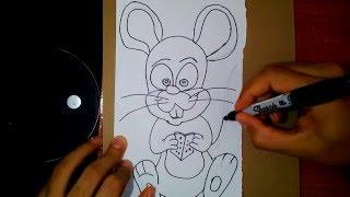 How to Draw a Mouse - Como Dibujar un Ratón 37