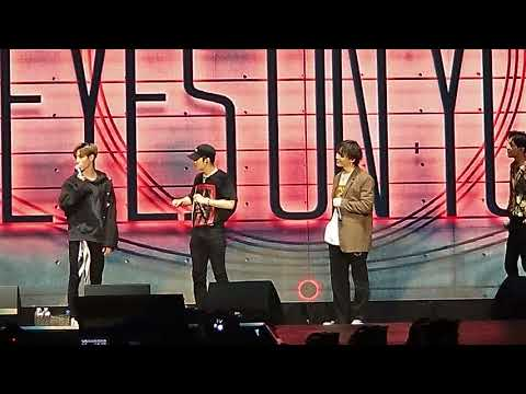 GOT7 EYES ON YOU 2018 TOUR IN LA - WHAT GOT7 WOULD SAY IF GF BREAKS UP WITH THEM