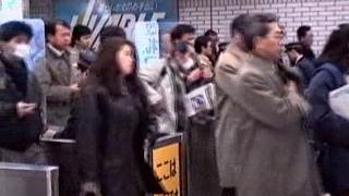 1991 新宿駅-池袋駅 埼京線 木曜日の夜 有人改札出口 Shinjuku to Ikebukuro 910124