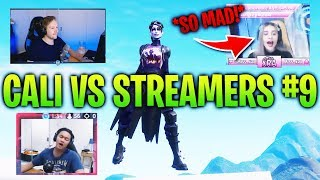 Killing Fortnite Twitch Streamers #9 (With Reactions) - Fortnite Battle Royale