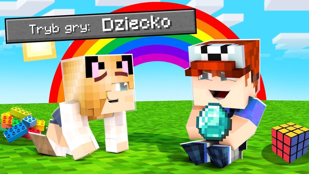 POZIOM TRUDNOŚCI DZIECKO W MINECRAFT (Najłatwiejszy Minecraft Na Świecie) | Vito i Bella