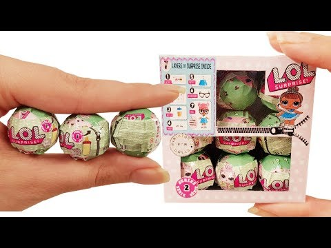 DIY Miniature ✫Lol Surprise Doll Blind Bags ✫ Tutorial   Crafts