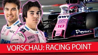 Racing Point: Ein-Mann-Show der Pink Panther? - Formel-1-Saisonvorschau 2019 (News)