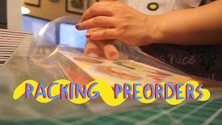 Download Mp3 Artist Vlog | Packing Preorders!
