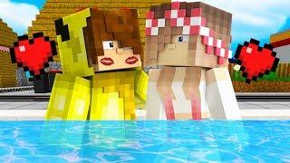 ISMETRG HAVUZDA ÖPÜŞTÜ! 😱 - Minecraft