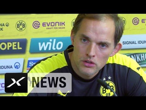 Thomas Tuchel über CL-Anspruch, Pierre-Emerick Aubameyang und Alexander Nouri | Borussia Dortmund