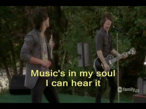 Camp Rock 'Play My Music' *with lyrics*