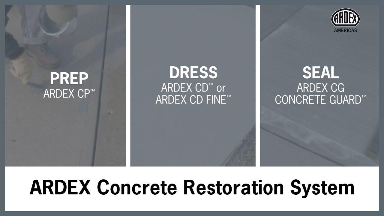 ARDEX Concrete Restoration System - System Commercial