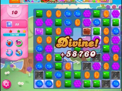 Candy Crush Saga Level 2789 New Version