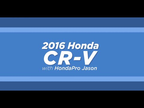 Cargo Space | 2016 Honda CR-V | Bill Cole Honda