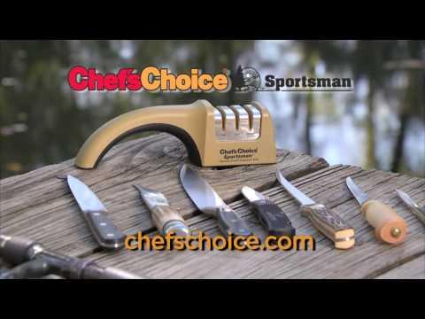 Chef'sChoice® Sportsman™ 4635 Fishing-Hunting Sharpener