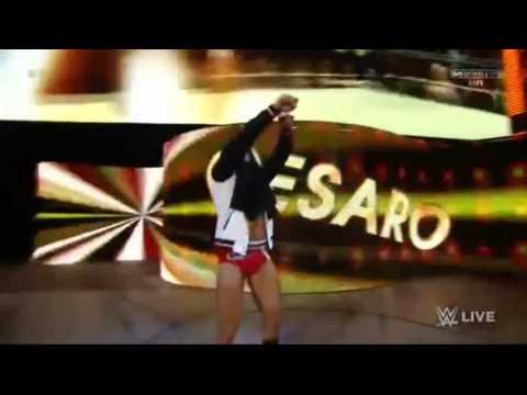 Cesaro WWE Entrance