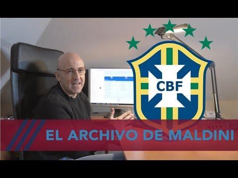 Brasil y goles inolvidables en el archivo de Maldini. Para verlo mil veces. #MundoMaldini