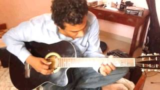 Naranathu branthan acoustic guitar arrangement.