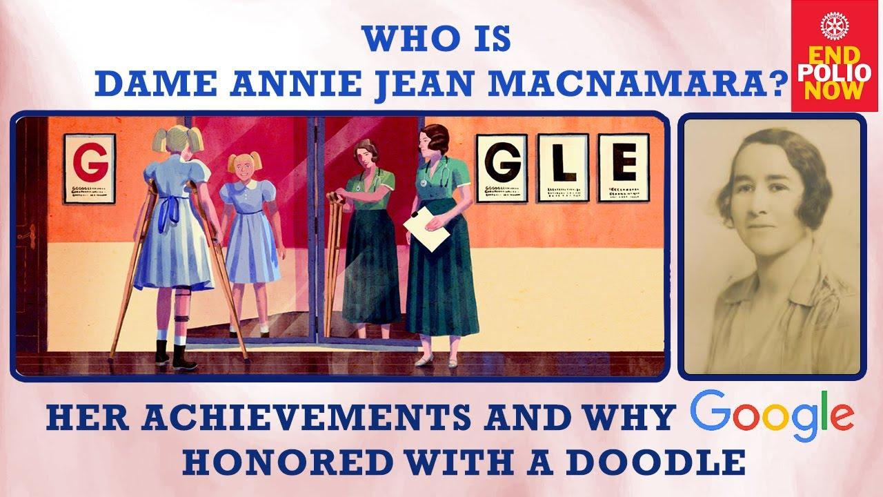 Who Is Dame Annie Jean Macnamara Her Achievements And Why Google