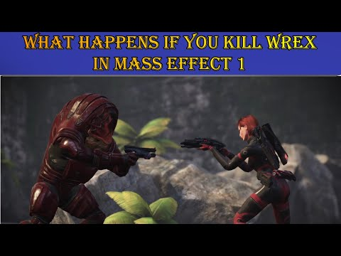 Mass Effect Legendary Edition :What Happens if you Kill Wrex |