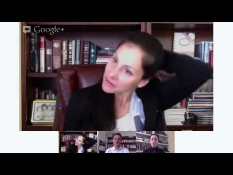 Google+ chat with Olympic marathoner Kara Goucher, hosted by Runner's World, 3/26/13