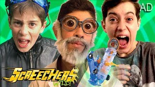 The Crazy Toy Inventor - Fun Kids Parody with Screechers Wild Toys