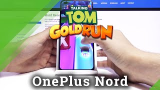 Talking Tom Gold Run on OnePlus Nord - Ігровий тест