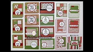 Carta Bella Have a Merry Christmas - 34 cards from one 6x6 paper pad