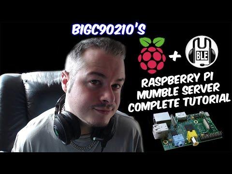 Raspberry Pi Mumble / Murmur Server Complete Tutorial Guide Walkthrough HD