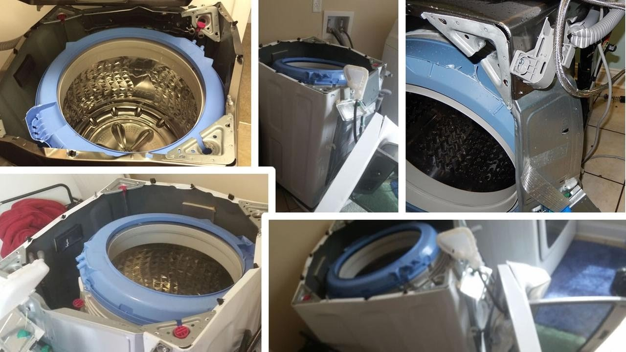 Update Video Samsung Wa45h7000aw A2 Top Load Washing