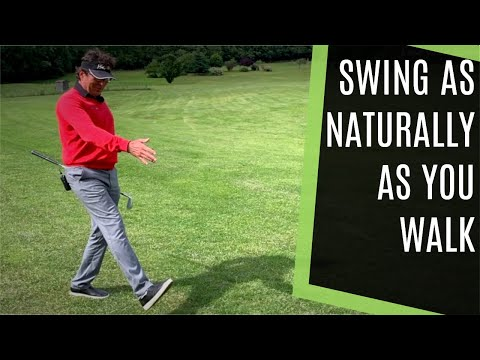 GOLF SWING SEQUENCE LIKE YOU WALK – IT'S DIFFICULT TO WALK LIKE YOU TRY SWING!