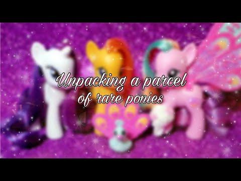 ★Обзор/посылка редких пони/ kristina radyga / My little pony ★