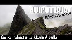 Vaellus Itävallan Alpeilla - Pelottava nousu // Austria, Imbachhorn, Rettenzink, Hoher Tenn //