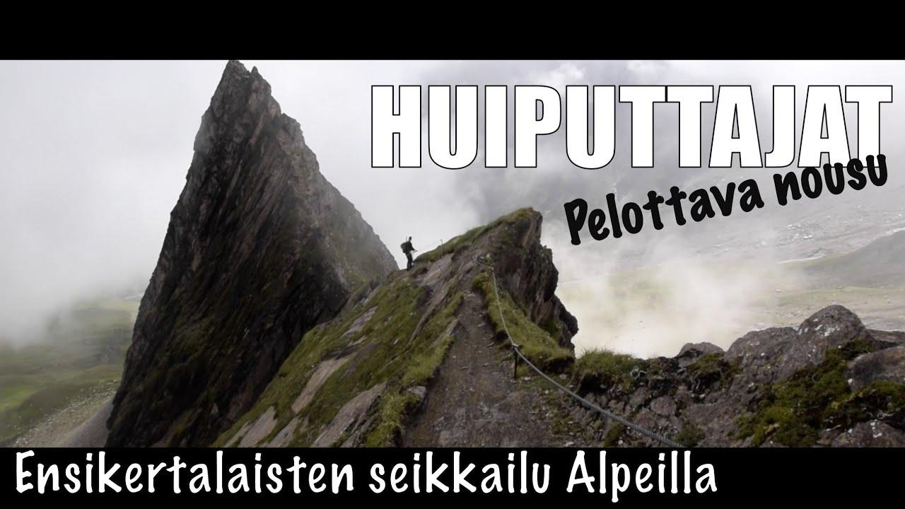 Vaellus Itavallan Alpeilla Pelottava Nousu Austria