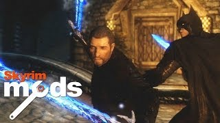Skyrim Batman gets high and tattooed - Top 5 Skyrim Mods of the Week